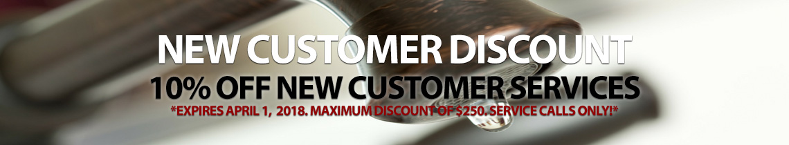 Customer Discount Banner - Badgerland Plumbing